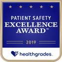 Award logo for Top 5% in U.S. for Patient Safety Excellence